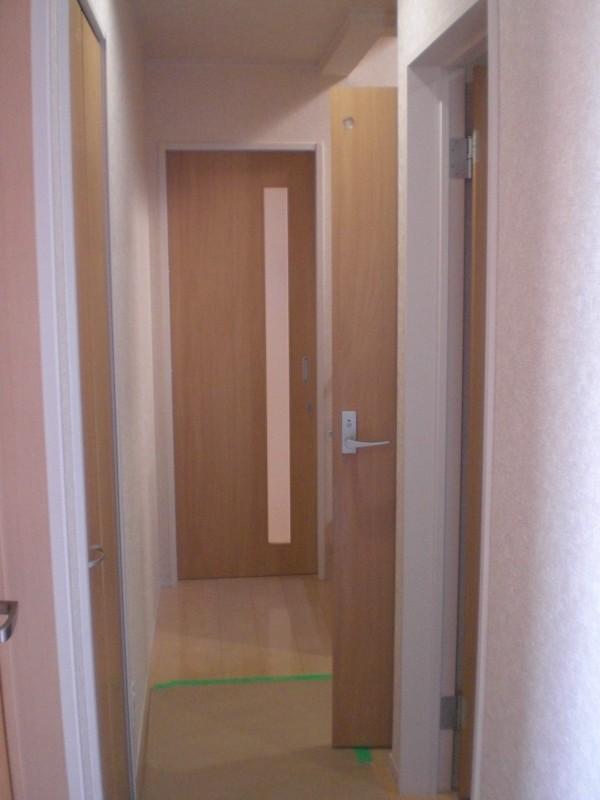 トイレのドア移動