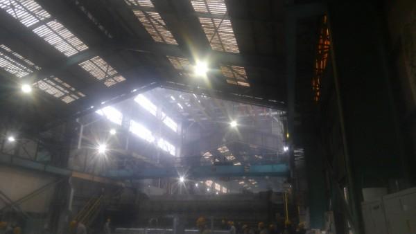 メッキ加工工場