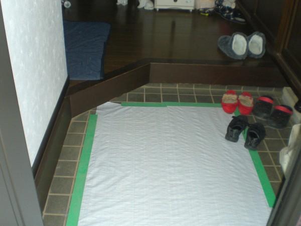 床重ね張り(さいたま市岩槻区)