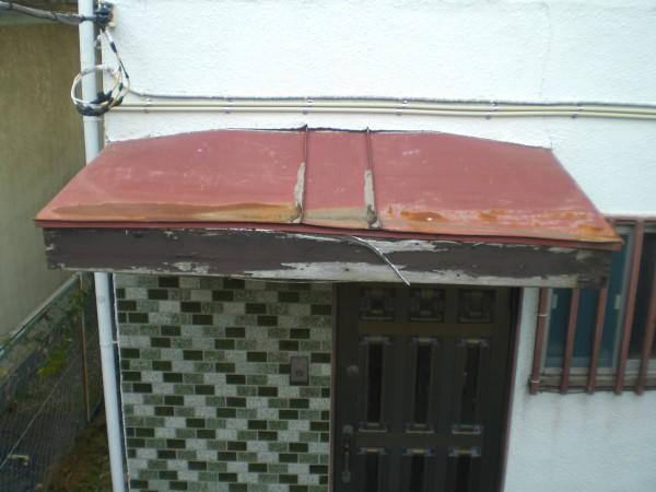 玄関屋根(さいたま市北区)